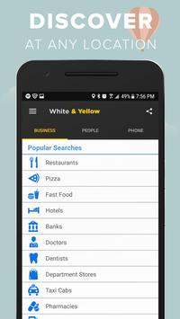 White & Yellow Pages poster