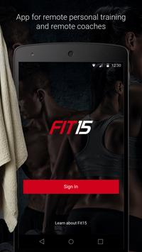 Fit15 poster