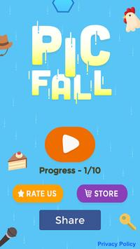 PicFall - Word & Picture Game screenshot 1