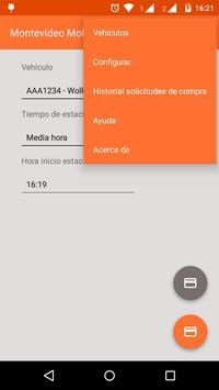 Montevideo Mobile Parking apk screenshot