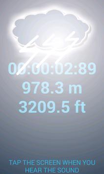 Sound Distance Calculator screenshot 1