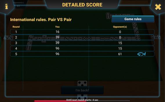 Dominoes 3D screenshot 5