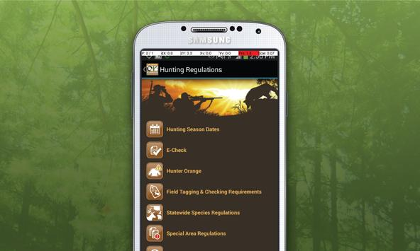 OK Fishing & Hunting Guide apk screenshot