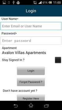 Avalon Villas Apartments apk screenshot