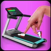 Finger Treadmill Running icon