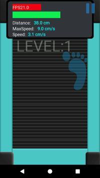 Finger Treadmill Running apk screenshot