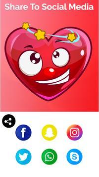 Kalp emoji yapıcı Ekran Görüntüsü 14