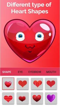 Kalp emoji yapıcı Ekran Görüntüsü 7