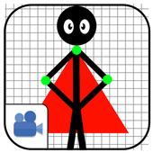 Superhero Cartoon Maker : Animated Story Creator icon