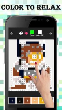 Superhero Coloring : Color By Number screenshot 2