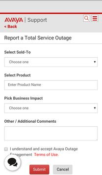 Avaya Support apk screenshot