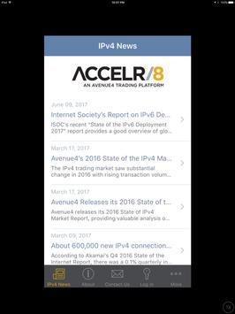 ACCELR/8, an Avenue4 Trading Platform screenshot 4
