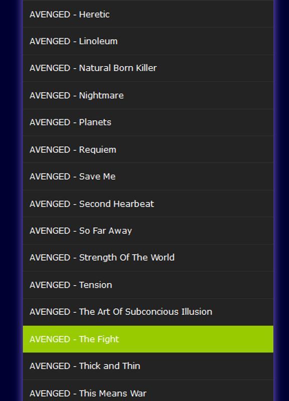avenged sevenfold full album download mp3