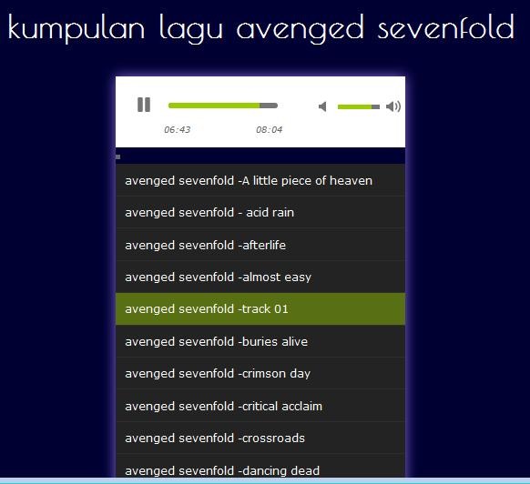 avenged sevenfold songs for Android - APK Download