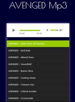 All Songs Avenged Sevenfold Mp3 screenshot 1
