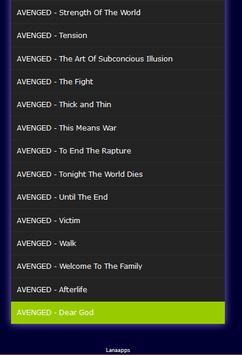 All Songs Avenged Sevenfold Mp3 screenshot 2