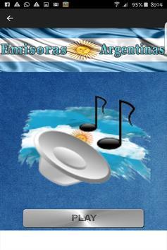 Emisoras de Radios Argentinas screenshot 2