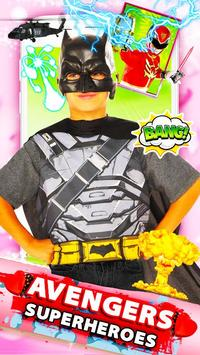 Ultimate Superhero Avenger Face Camera screenshot 7