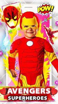 Ultimate Superhero Avenger Face Camera poster
