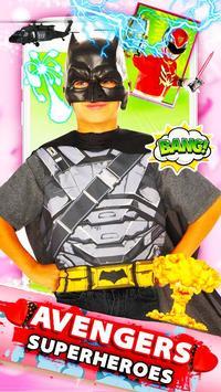 Ultimate Superhero Avenger Face Camera screenshot 3