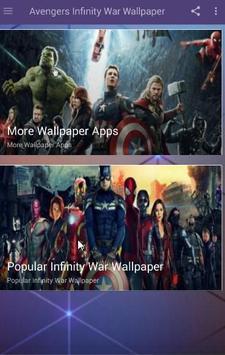 Avengers Infinity War Wallpaper screenshot 3