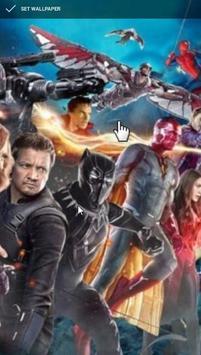 Avengers Infinity War Wallpaper screenshot 2