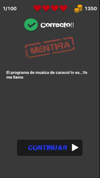 Verdad o Mentira - Cine y Tv apk screenshot