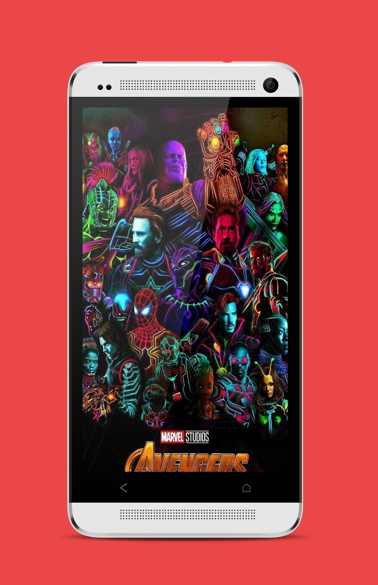 Avengers Neon Wallpaper For Android Apk Download