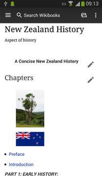 WikiSurfer for Wikibooks apk screenshot