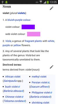 WikiSurfer for Wiktionary apk screenshot