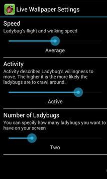 Ladybird Wallpaper apk screenshot