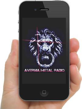 AVERNIA METAL RADIO ONLINE poster