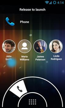 Swipe Lock Screen Launcher apk screenshot