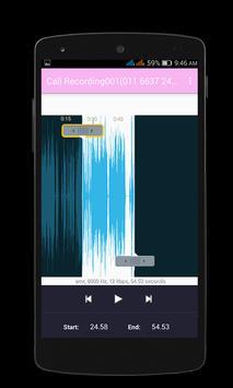 MP3 Ringtone Cutter screenshot 1