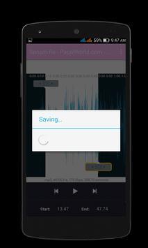 MP3 Ringtone Cutter screenshot 3