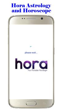 Hora Astrology and Horoscope poster