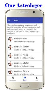 Hora Astrology and Horoscope apk screenshot