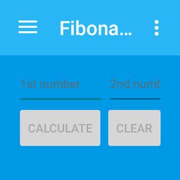 Fibonacci Calculator apk screenshot