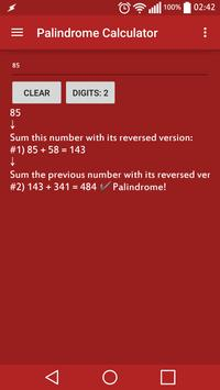 Palindrome Calculator poster