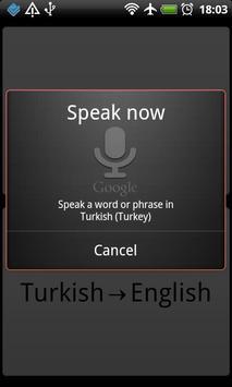 Hızlı Sözlük apk screenshot