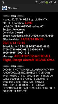 NOTAM reader apk screenshot