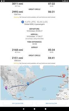 Aviapages Flight Time Calculator screenshot 5