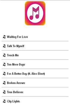 Avicii Lyrics poster