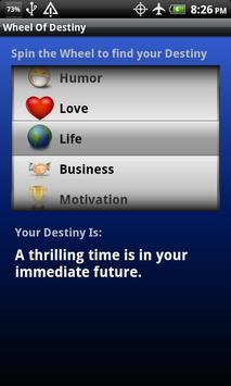 Wheel Of Destiny apk screenshot