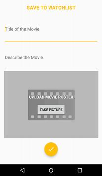 Watchlist: Must watch list apk screenshot