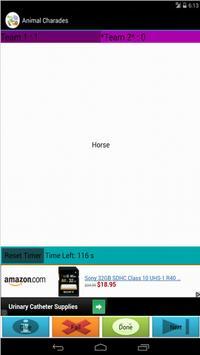 Animal Charades apk screenshot