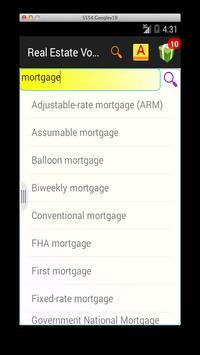 Real Estate Vocab screenshot 4