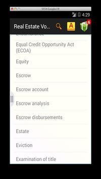 Real Estate Vocab screenshot 2