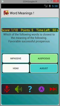 Speaking Word Meanings ! apk screenshot