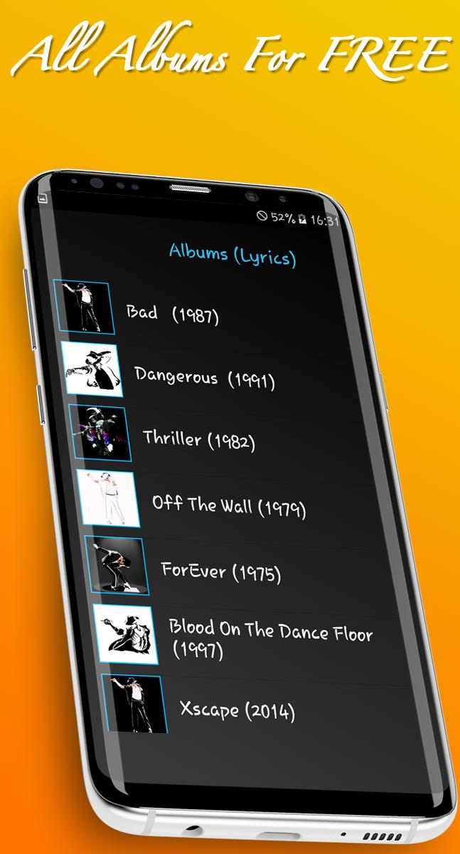 Mj Songs And Lyrics For Android Apk Download